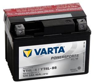 Varta Powersports AGM YT4L-4 / YT4L-BS