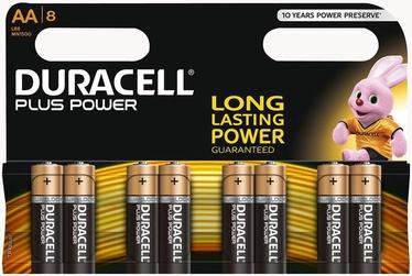 Duracell Plus Power AA Alkaline Battery 8pcs