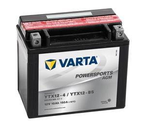 Аккумулятор Varta Powersports AGM YTX14-4 / YTX14-BS, 12 В, 12 Ач, 200 а