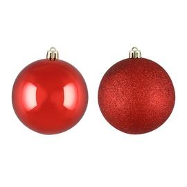 Jõulupuu ehe Red, 60 mm, 20 tk