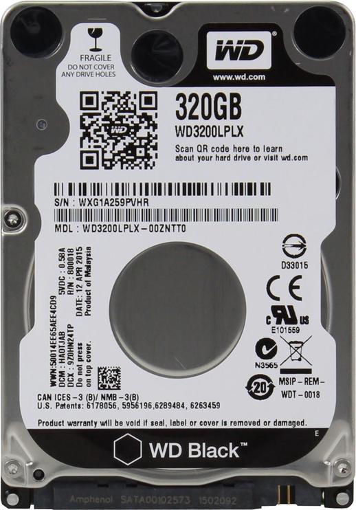 Western Digital Black 2.5 320GB 7200RPM SATAIII 32MB WD3200LPLX