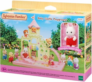 Epoch Sylvanian Families Baby Castle Playground With Chocolate Rabbit Baby 5319
