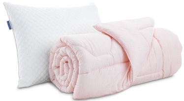 Dormeo Sleep & Inspire Pillow And Duvet Set Peach 200x200cm 3pcs