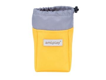 Amiplay Samba Treats Dispenser 8x6x10cm Yellow