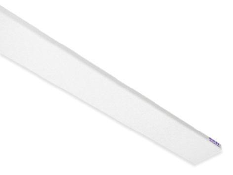 Uksepiirdeliist MDF 5x2200x58mm valge