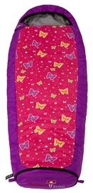 Gruezi Bag Kids Grow Butterfly Sleeping Bag Left Zipper