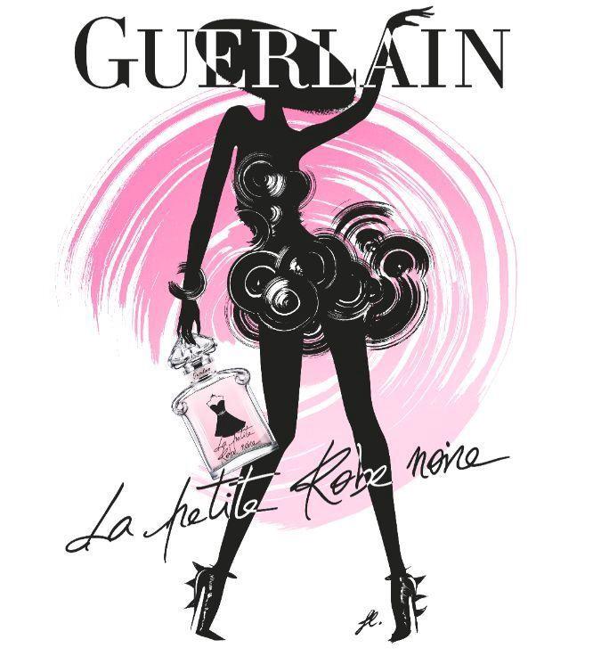 Ķermeņa piens Guerlain La Petite Robe Noire Velvet, 200 ml