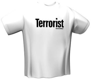 GamersWear Terrorist T-Shirt White L
