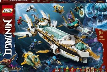 Konstruktor LEGO Ninjago Hüdrosõiduk 71756, 1159 tk