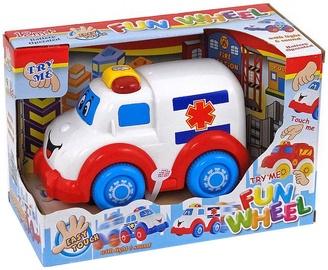 Tommy Toys Funn Wheel Ambulance Car 482609