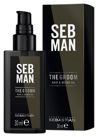 Sebastian Professional Seb Man The Groom Hair & Beard Oil 30ml