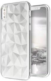 Blun 3D Prism Shape Back Case For Samsung Galaxy J5 J530 White