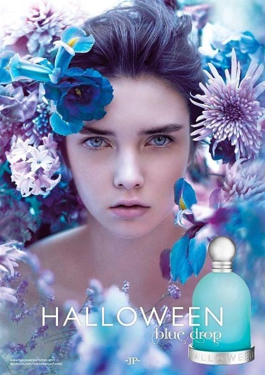 Набор для женщин Jesus Del Pozo Halloween Blue Drop 100 ml EDT + 30 ml EDT + 4.5 ml EDT