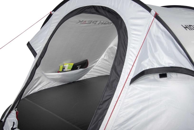 Trīsvietīga telts High Peak Vision 3, pelēka