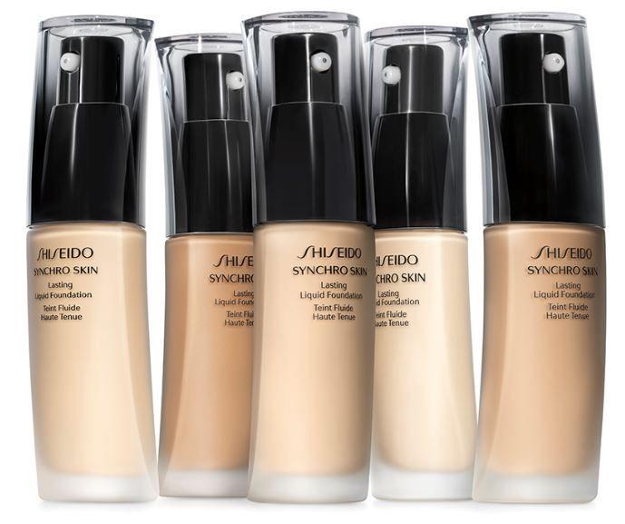 Shiseido Synchro Skin Lasting Liquid Foundation SPF20 30ml N4