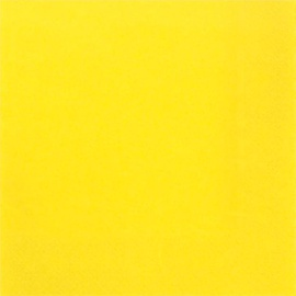 Susy Card Party Napkins Yellow 33 x 33cm