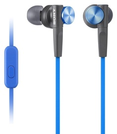 Ausinės Sony XB50AP Extra Bass In-Ear Blue