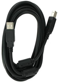 4World USB Type A To USB Type B 3m Black