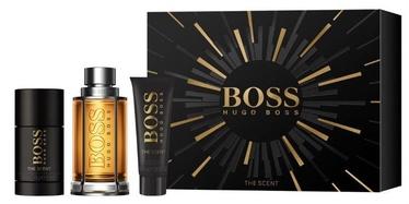Hugo Boss The Scent 100ml EDT + 50ml Shower Gel + 75ml Deostick New Design