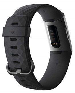 Išmanusis laikrodis Fitbit CHARGE 3, juoda