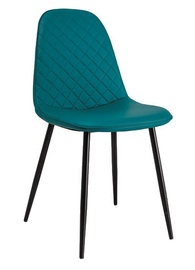 Signal Meble Teo C Chair Black Stela/Marine Ecoso