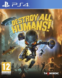 PlayStation 4 (PS4) spēle Destroy All Humans! PS4