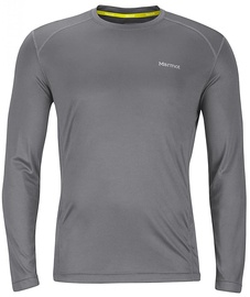 Marmot Mens Long Sleeve Shirt Windridge Cinder L
