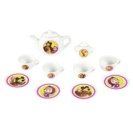 Žaislinis arbatos servizas Maša ir lokys