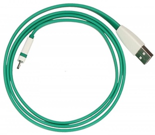TB Cable USB to Micro USB Green 1m
