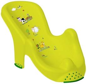 Keeeper Anatomic Baby Bath Chair Funny Farm Green Meadow
