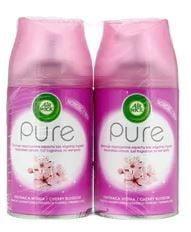 Gaisa atsvaidzinātājs Air Wick Fresh Matic Pure Cherry Blossom Refill, 2x250 ml