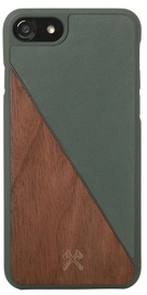 Woodcessories EcoSplit Back Case For Apple iPhone 7/8 Walnut/Green