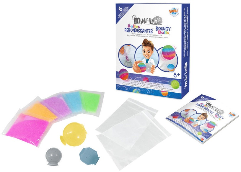 Buki France Mini Lab Bouncy Balls