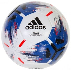 Adidas Team Competitio Ball White/Blue Size 5