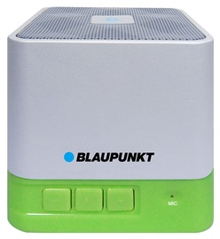 Belaidė kolonėlė Blaupunkt Portable Bluetooth BT02GR, balta/žalia