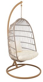 Home4you Cordy Hanging Chair Light Grey