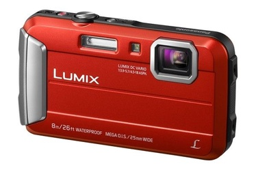 Panasonic LUMIX Digital Camera Red