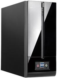 In Win mITX Minidesktop 180W Black BM639