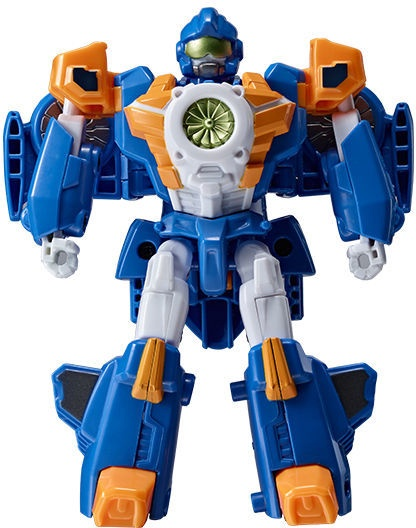 Žaislinis transformeris Young Toys Mini Tobot Mach W