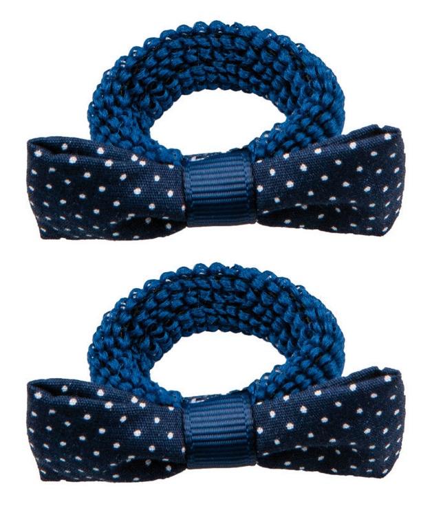 Titania Hair Bands 2pcs Blue