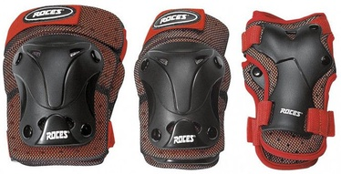 Roces MJR Ventilated Three Pack Black/Red