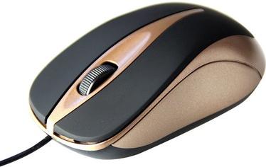 Media-Tech Plano MT091MO Optical Mouse Black/Gold