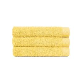 Vonios rankšluostis Lasa, geltonas, 33 x 50 cm