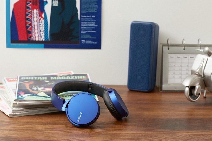 Ausinės Sony XB650BT EXTRA BASS Bluetooth Headphones Blue