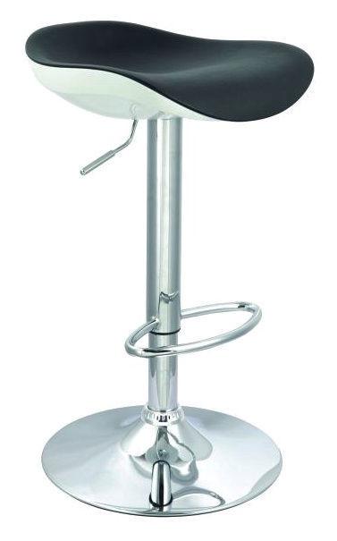 Baro kėdė Signal Meble C-631 Black/White, 1 vnt.