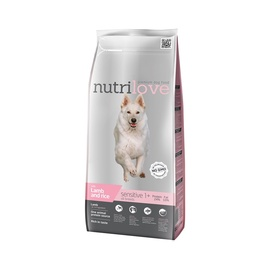 Sausas ėdalas šunims Nutrilove Sensitive, su ėriena, 3 kg