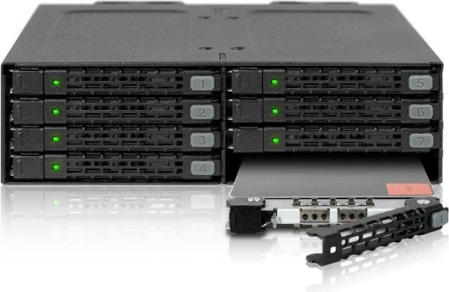 "Icy Dock EZ-Slide MB998TP-B 2.5"" SATA Nano Tray"