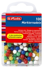 Herlitz Indicator Pins 100pcs