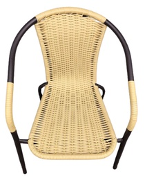 Садовый стул Bistro Natural Rattan 57x52x75