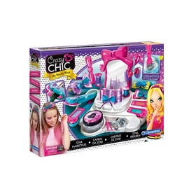 Žaislinis plaukų dekoravimo rinkinys Clementoni Crazy Chic 15241